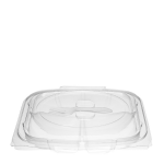 1000g 3 Cavity Hinged Salad Pack With Fork